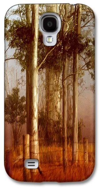 Holly Kempe Galaxy S4 Cases - Tall Timbers Galaxy S4 Case by Holly Kempe