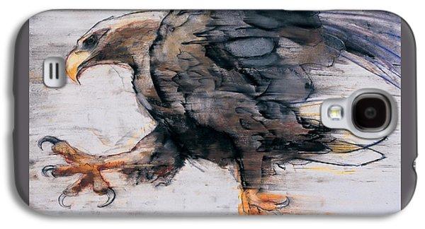 Talons   White Tailed Sea Eagle Galaxy S4 Case by Mark Adlington
