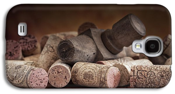 Tapped Out - Wine Tap With Corks Galaxy S4 Case by Tom Mc Nemar