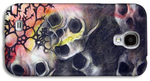 Macabre Galaxy S4 Cases - Tartarus Galaxy S4 Case by Emma Craig