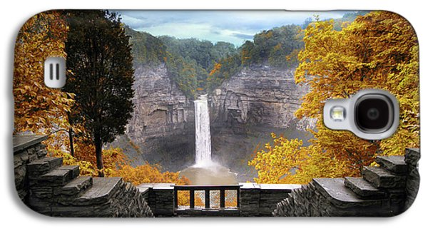 Taughannock In Autumn Galaxy S4 Case by Jessica Jenney