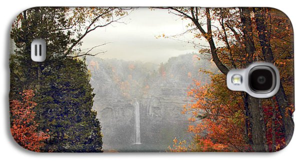 Taughannock In The Mist Galaxy S4 Case by Jessica Jenney