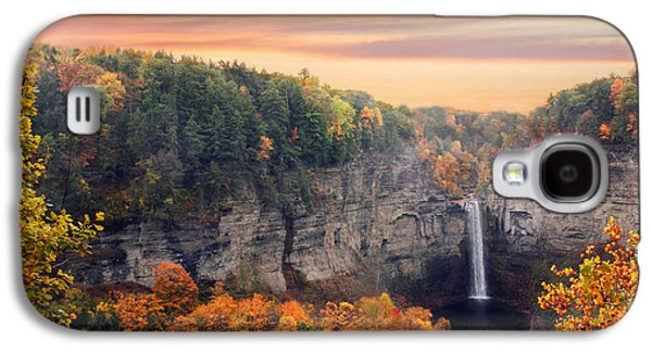 Taughannock Sunset Galaxy S4 Case by Jessica Jenney