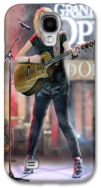 Taylor At The Opry Galaxy S4 Case by Don Olea