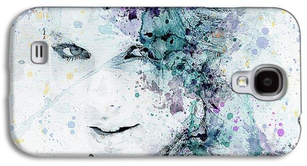 Taylor Swift Galaxy S4 Case by JW Digital Art