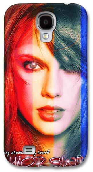 Taylor Swift - Sparks Alt Version Galaxy S4 Case by Robert Radmore