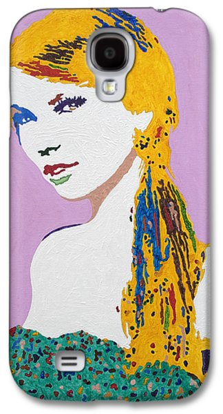 Taylor Swift Paintings Galaxy S4 Cases - Taylor Swift Galaxy S4 Case by Stormm Bradshaw