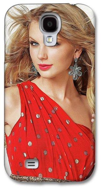 Taylor Swift Galaxy S4 Case by Twinkle Mehta