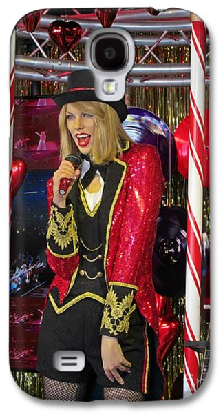 Celebrities Sculptures Galaxy S4 Cases - Taylor Swift Wax Figure Galaxy S4 Case by Crystal Loppie
