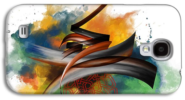 Motifs Galaxy S4 Cases - TC Calligraphy 34 Galaxy S4 Case by Team CATF