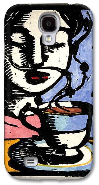 Tea Galaxy S4 Case by Pauline Lim
