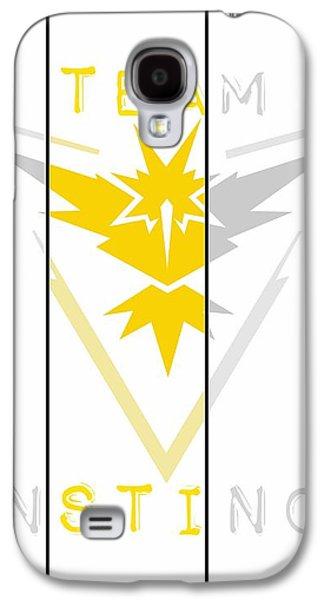 Team Instinct Galaxy S4 Case by Marianna Mills