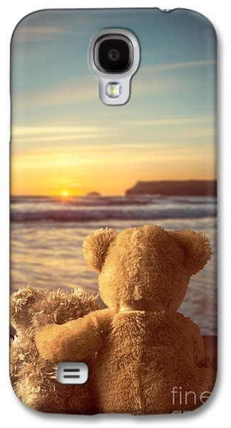 Sun Galaxy S4 Cases - Teddies At Sunset Galaxy S4 Case by Amanda And Christopher Elwell
