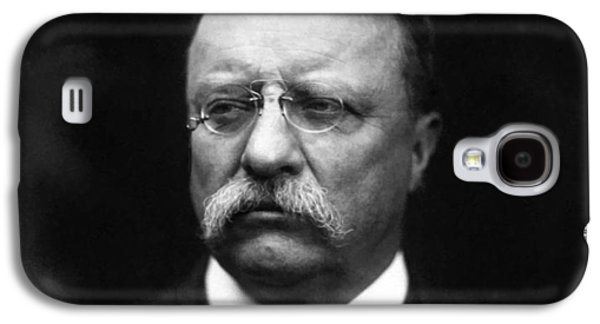 United States Paintings Galaxy S4 Cases - Teddy Roosevelt Galaxy S4 Case by War Is Hell Store