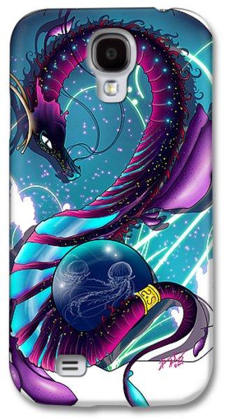 Leafy Sea Dragon Galaxy S4 Cases - Tempest Galaxy S4 Case by Alexandra Haley
