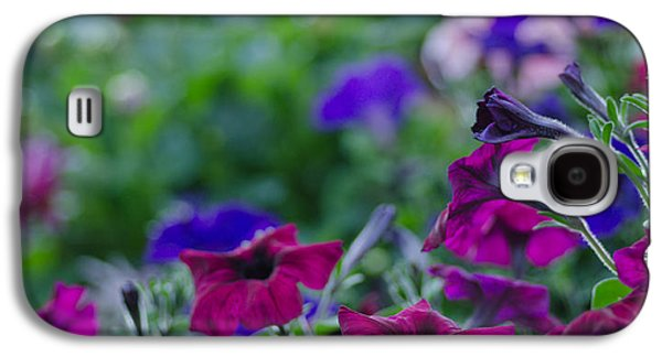 Bloosom Galaxy S4 Cases - Temple Flowers Galaxy S4 Case by Nick  Boren