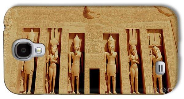 Temple Of Nefertiti Galaxy S4 Case by Corey Ford