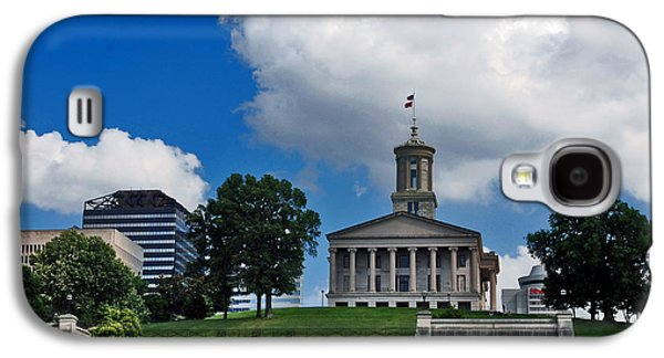 Tennessee Landmark Galaxy S4 Cases - Tennessee State Capitol Nashville Galaxy S4 Case by Susanne Van Hulst
