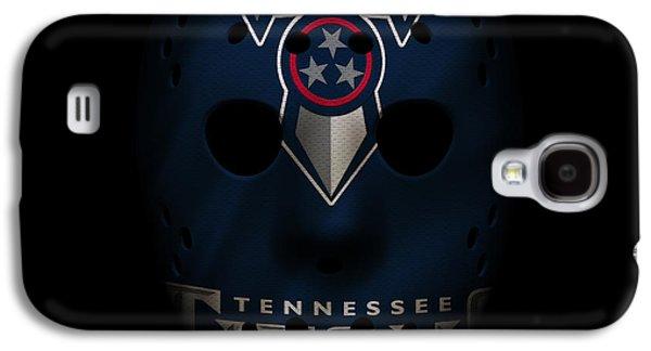 Sports Photographs Galaxy S4 Cases - Tennessee Titans War Mask 2 Galaxy S4 Case by Joe Hamilton