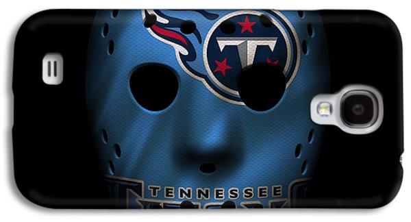 Sports Photographs Galaxy S4 Cases - Tennessee Titans War Mask Galaxy S4 Case by Joe Hamilton