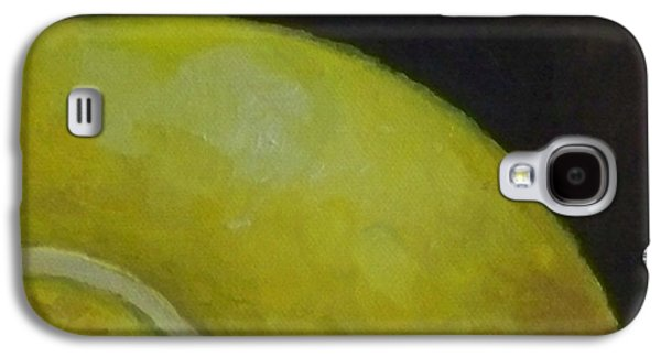 French Open Paintings Galaxy S4 Cases - Tennis Ball No. 2 Galaxy S4 Case by Kristine Kainer