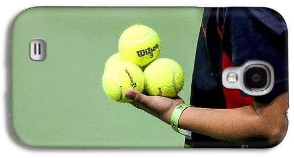 Tennis Ballboy Galaxy S4 Case by Lilach Weiss