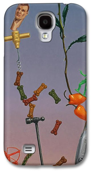 Box Galaxy S4 Cases - Tenuous Still-Life 3 Galaxy S4 Case by James W Johnson