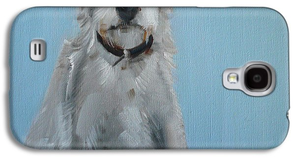 Terrier Galaxy S4 Cases - Terrier Galaxy S4 Case by Sally Muir
