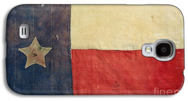 American Independance Photographs Galaxy S4 Cases - Texas Flag, 1842 Galaxy S4 Case by Granger