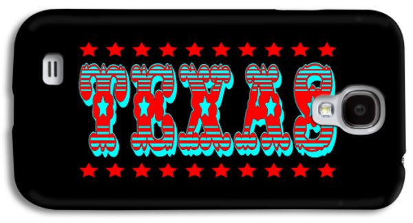 Universities Tapestries - Textiles Galaxy S4 Cases - Texas Galaxy S4 Case by Peter Fine Art Gallery  - Paintings Photos Digital Art