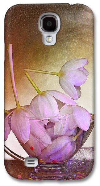 Original Art Photographs Galaxy S4 Cases - Thank You Galaxy S4 Case by Jone Vasaitis