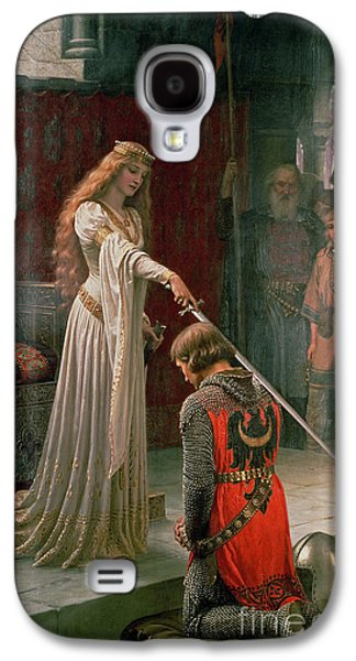 Leaders Galaxy S4 Cases - The Accolade Galaxy S4 Case by Edmund Blair Leighton