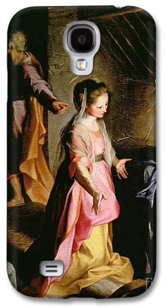 The Adoration Of The Child Galaxy S4 Case by Federico Fiori Barocci or Baroccio