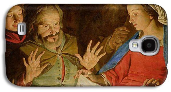 The Adoration Of The Shepherds Galaxy S4 Case by Matthias Stomer