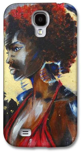 African-american Galaxy S4 Cases - The ancestors... Galaxy S4 Case by Victoria Rosenfield