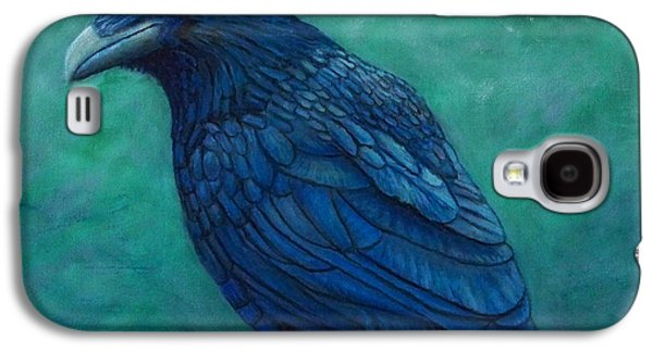 Crows Paintings Galaxy S4 Cases - The Ancient One Galaxy S4 Case by Brian  Commerford