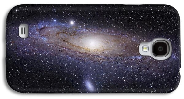 Galaxies Galaxy S4 Cases - The Andromeda Galaxy Galaxy S4 Case by Robert Gendler