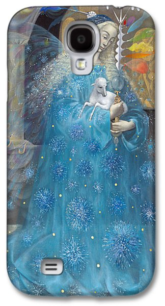 Religious Drawings Galaxy S4 Cases - The Angel of Truth Galaxy S4 Case by Annael Anelia Pavlova