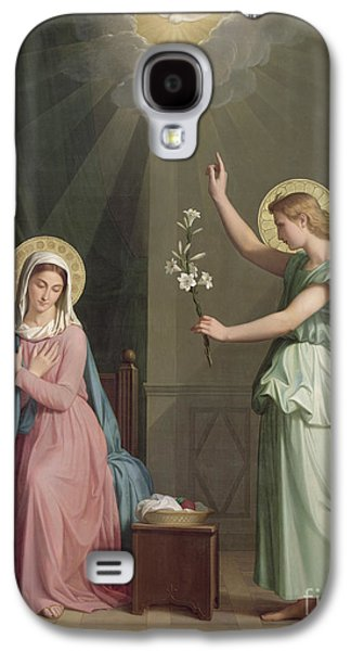 The Annunciation Galaxy S4 Case by Auguste Pichon