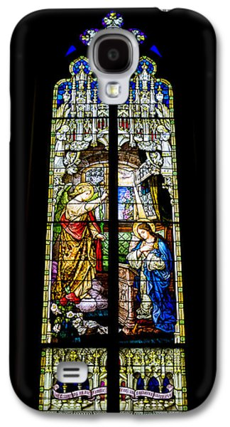 The Annunciation - St Mary's Church Galaxy S4 Case by Stephen Stookey