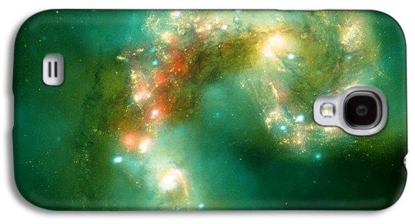 The Antennae Galaxies Galaxy S4 Case by American School