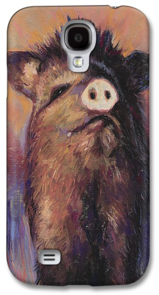 Universities Pastels Galaxy S4 Cases - The Aristocrat Galaxy S4 Case by Billie Colson