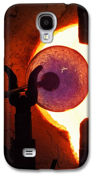 Abstract Forms Galaxy S4 Cases - THE ART of MAKING GLASS Galaxy S4 Case by Karen Wiles