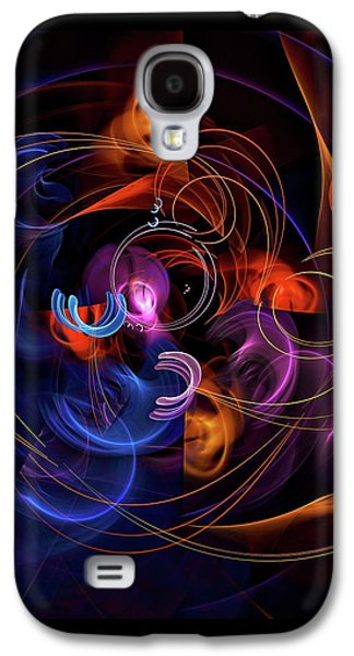Abstract Movement Galaxy S4 Cases - The Art of Marriage Galaxy S4 Case by Burtram Anton