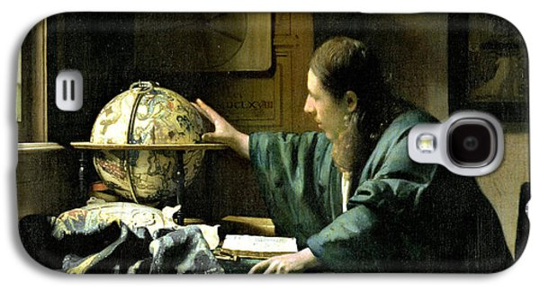 The Astronomer Galaxy S4 Case by Jan Vermeer