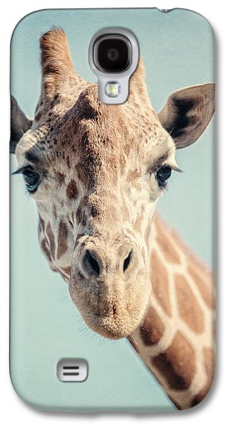 The Baby Giraffe Galaxy S4 Case by Lisa Russo