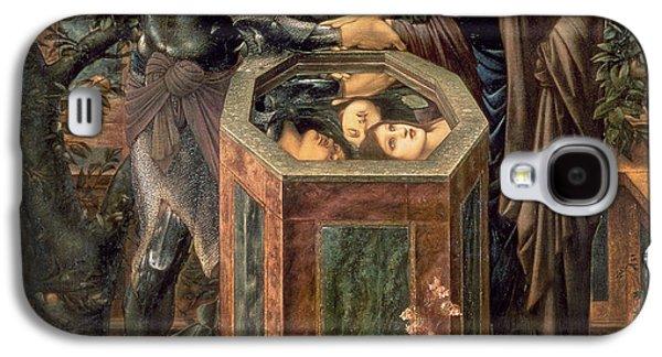 The Baleful Head Galaxy S4 Case by Sir Edward Burne-Jones