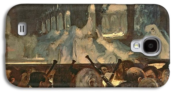 The Ballet Scene From Meyerbeer's Opera Robert Le Diable Galaxy S4 Case by Edgar Degas