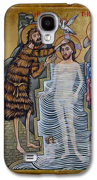 The Baptism Of Christ Galaxy S4 Case by Filip Mihail