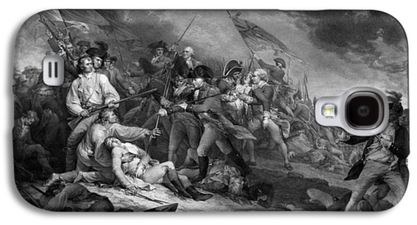 Revolutionary War Mixed Media Galaxy S4 Cases - The Battle of Bunker Hill Galaxy S4 Case by War Is Hell Store